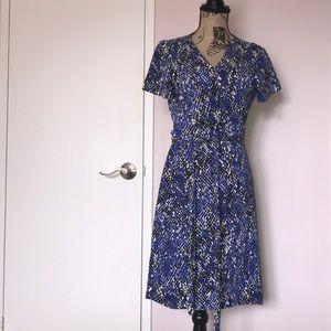 DVF classic wrap dress size 14
